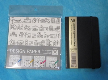 デザインペーパー アートライン01