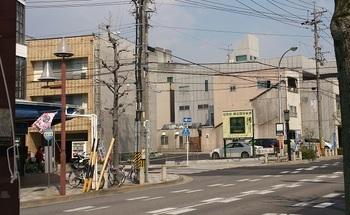 竹内文具店・旧店舗跡